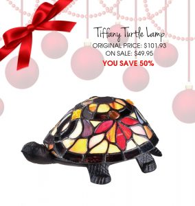 Turtle Tiffany Lamp