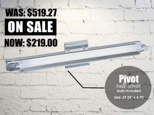 pivot wall sconce robinson lighting