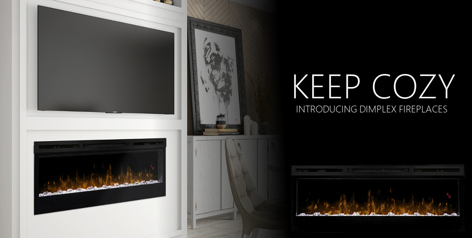 DIMPLEX FIREPLACES AT WPGL SHOWROOM