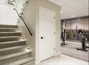 Recreational Room Staircase