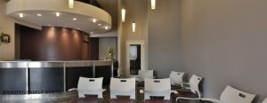 Dental Clinic Reception Area