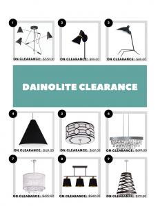 dainolite clearance