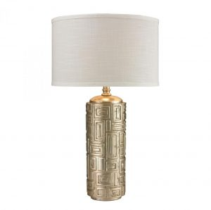 Table Lamp - Antique Silver Leaf